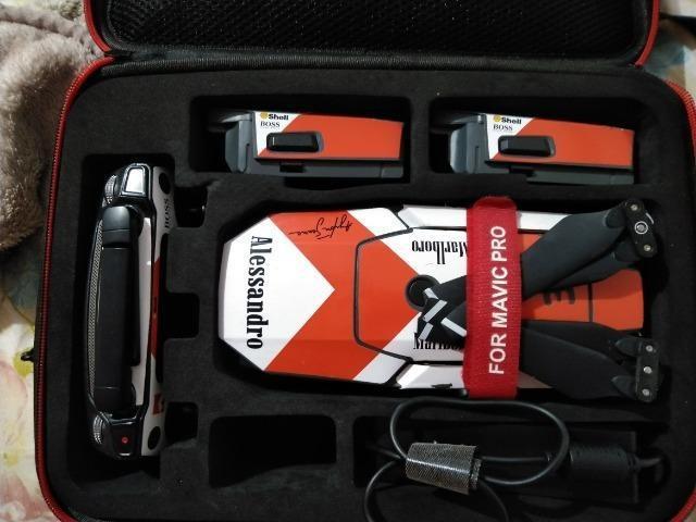 Drone mavic pro com kit Fly More 3 baterias