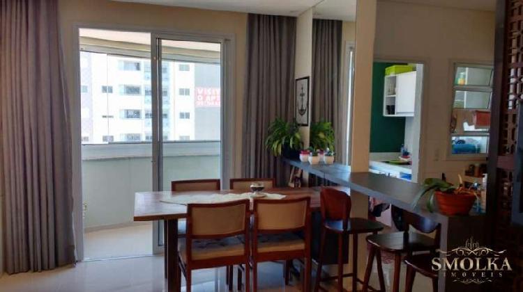Lindo apartamento 2 dormitórios 1suíte, 1 vaga de garagem