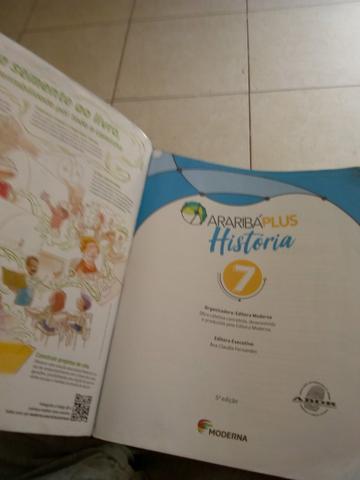 Livro de história 7°ano