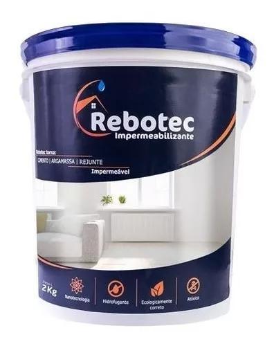 Rebotec 2 / 2kg Impermeabilizante Distribuição Sp Original