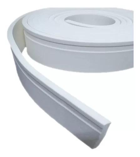Roda Pé Eva Flexível 5cm X 1cm - 50 Metros + Brinde