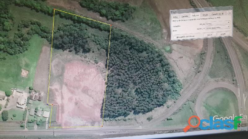 Vende se Terreno Industrial de 26.000 m2 Vera Cruz no trevo