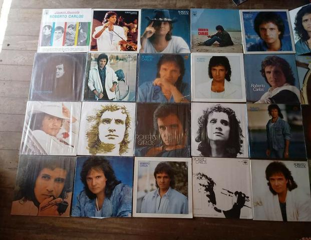 Vendo coleção de discos do Roberto Carlos