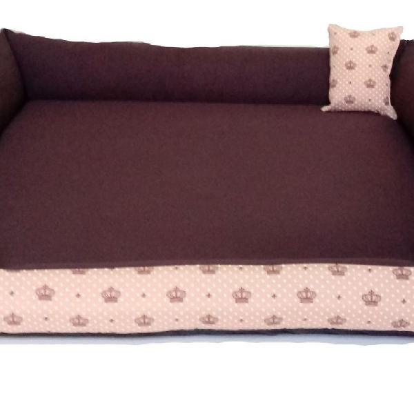 cama pet extra grande 90x90 cm
