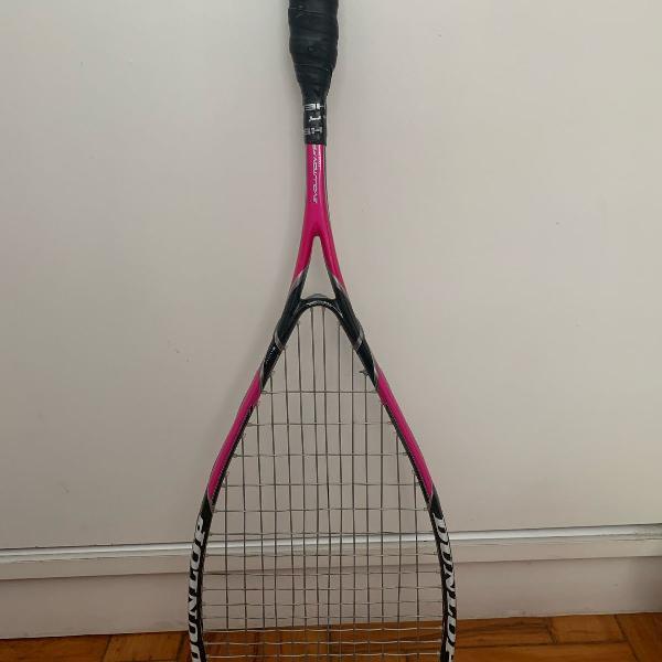raquete de squash dunlop aerogel 120 gramas