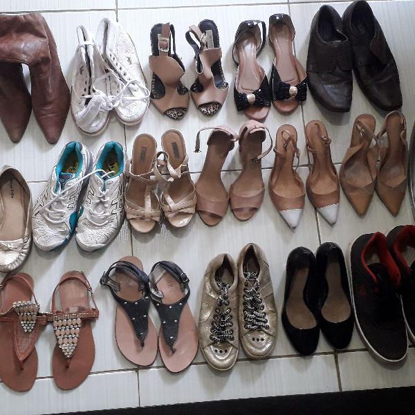 sapatos para restaurar