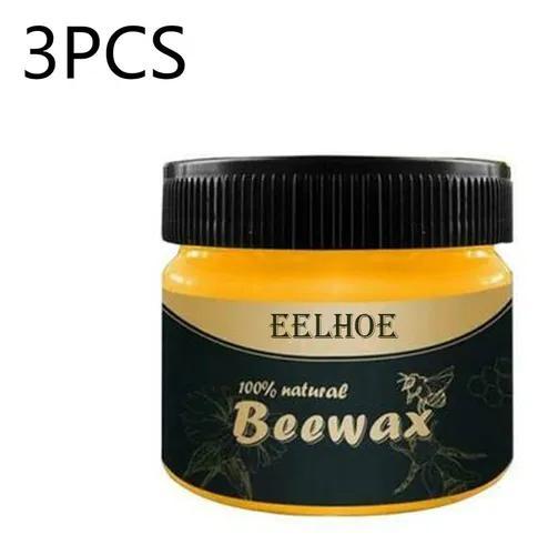 3pcs Móveis Eelhoe Polimento De Cera De Abelha Móveis De