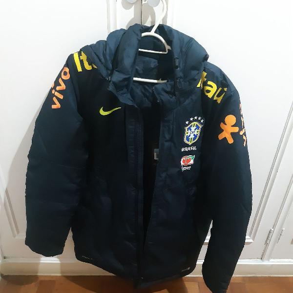 Casaco Nike Seleção Brasileira - Oficial, Nunca Usado