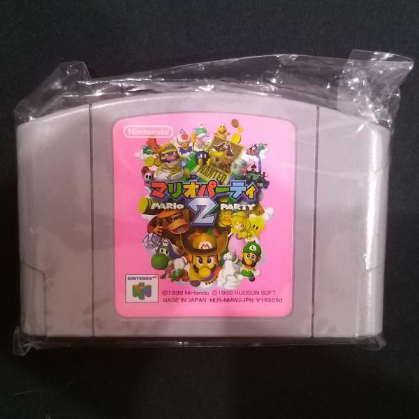 Fita Mario Party 2 - Nintendo 64 Original Japonesa, bem