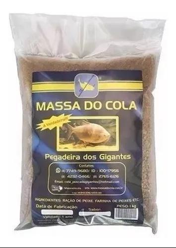 Massa Do Cola Para Pesca Tambas Tambaqui Pacu 1kg