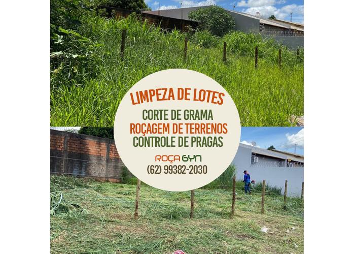 Roçagem de Lotes e Terrenos em Goiânia e Aparecida de