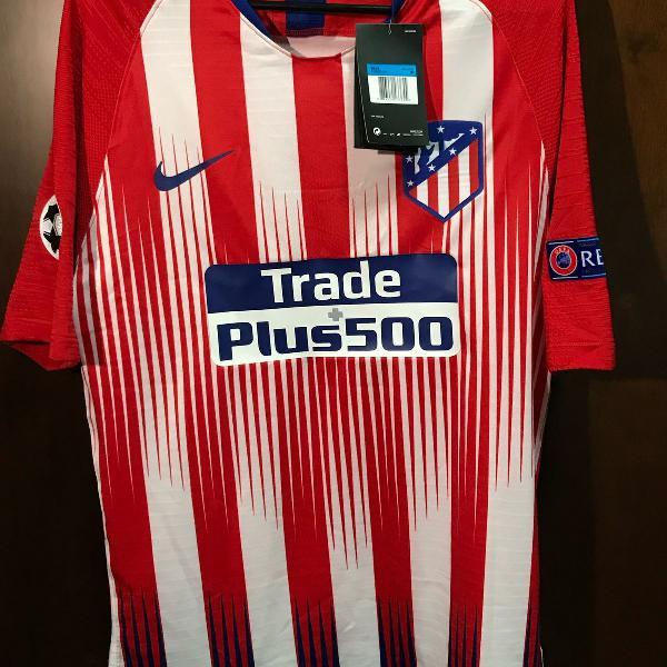 camiseta nike versão jogador atlético madrid