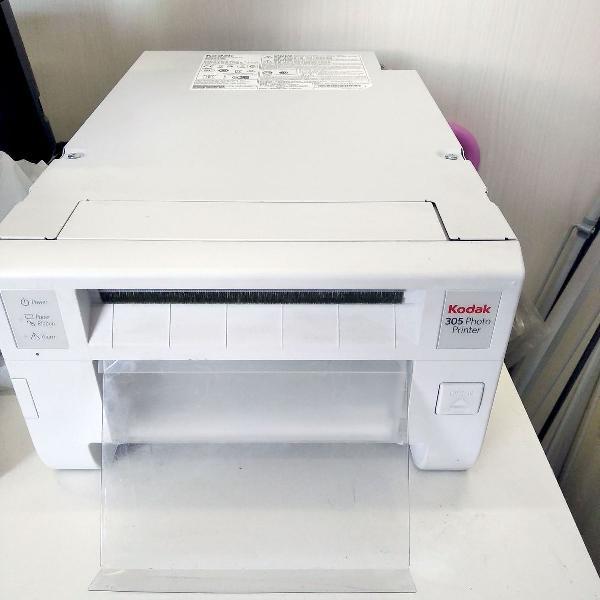impressora kodak 305 profissional carregada c/ papel e