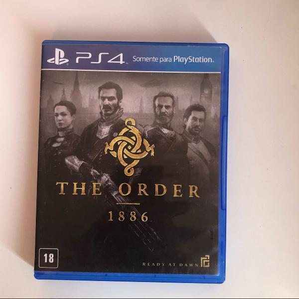jogo the order ps4 1886