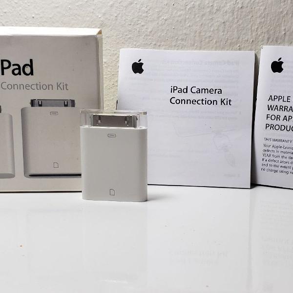 kit para conexão usb e sd para apple (original)