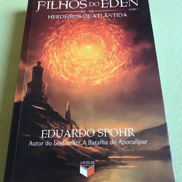 livro filhos do éden - herdeiros de atlântida, de eduardo