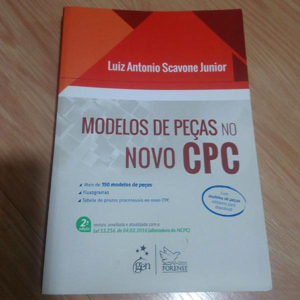 livro modelos de peças no novo CPC desengaveta