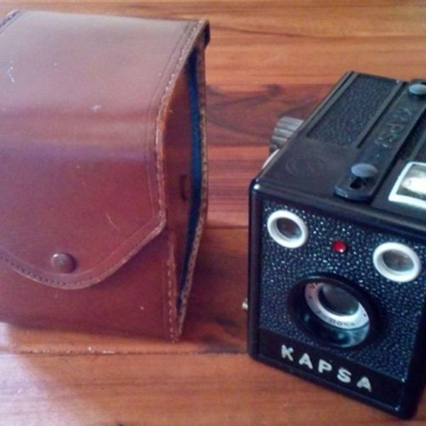 máquina de foto antiga