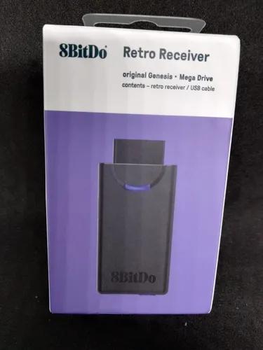 Adaptador De Controles Bluetooth 8bitdo Para Mega Drive