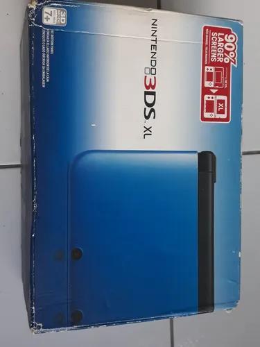 Excelente Nintendo 3ds Xl Azul Completo+9 Jogos Originais.