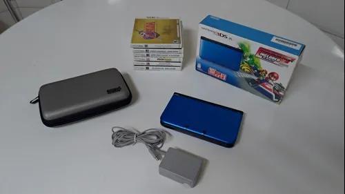 Nintendo 3ds Xl + 7 Jogos Originais (jogabilidade Online)