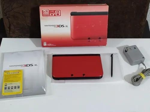 Nintendo 3ds Xl Completo Lindo 32gb + Muitos Jogos 3d