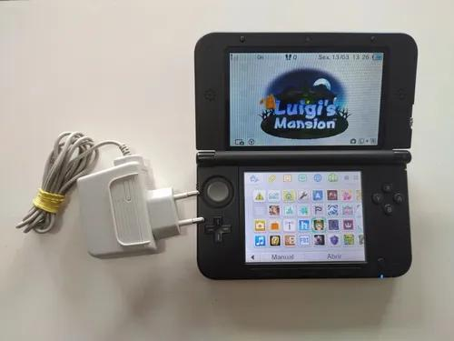 Nintendo 3ds Xl Original Com Jogos No Cartão.