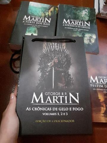 Box Game of Thrones (livro 1,2,3) + livros 4 e 5