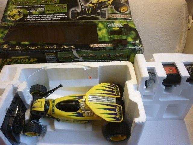 Carro de controle remoto Insector articulável- Home play