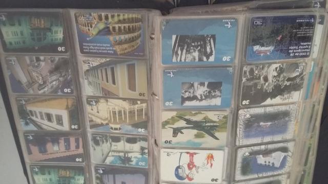 Coleção de cartões Telefone, mais de 600 cartões