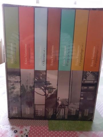 Coleção de livros O tempo e o vento 7 volumes NOVO