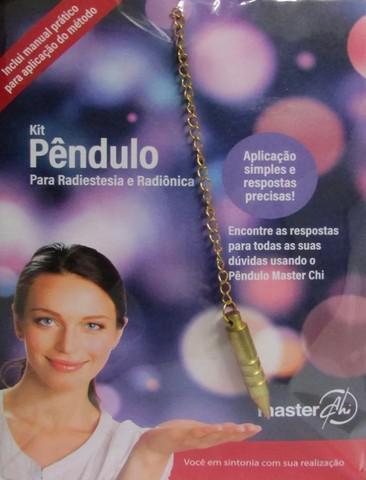 Kit Pêndulo Para Radiestesia E Radiônica - Manual,