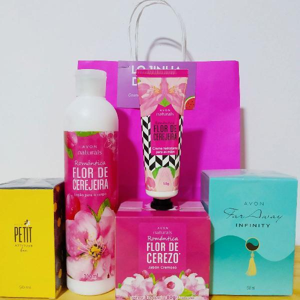 Kit de cosméticos Avon