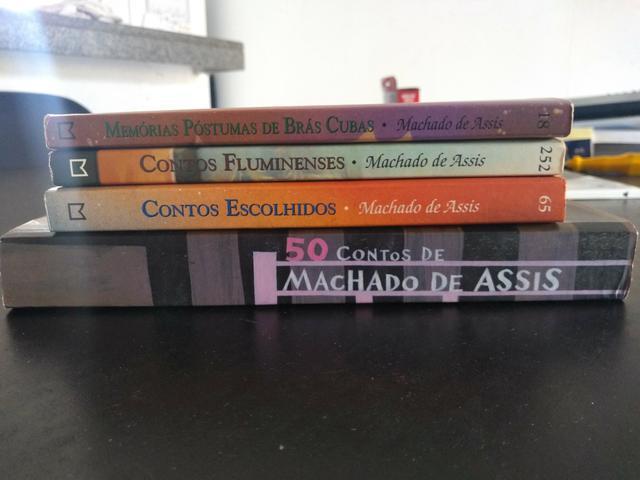 Livros Machado de Assis - Coleção Literatura