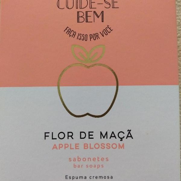 Sabonete flor de maçã cuide se bem o Boticário