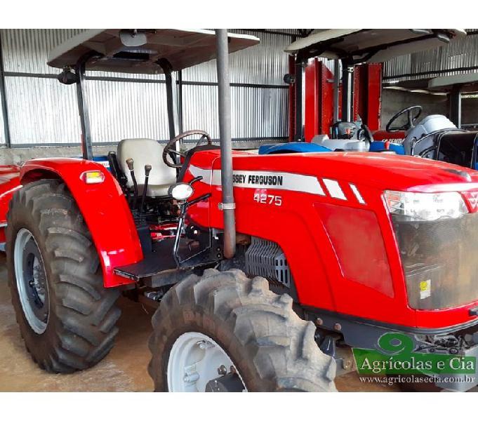 Trator Massey Ferguson 4275 4x4 (Apenas 971 Horas!)