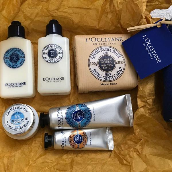 kit loccitane in provence 7 itens necessaire