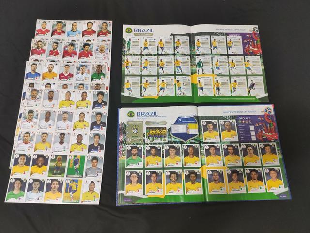 lbum Copa do Mundo 2018 COMPLETO