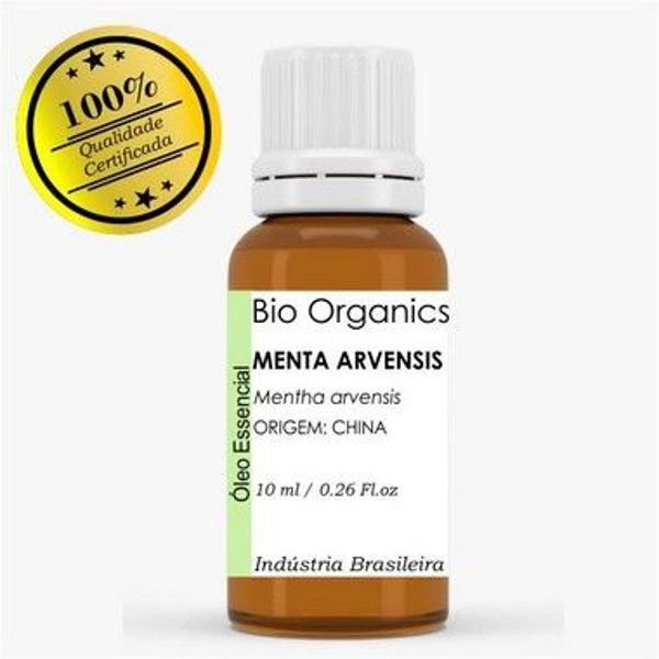 oléo essencial de menta avensis 10ml - bio organics (100%