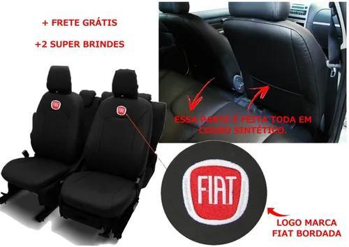Capa Banco Carro 100% Couro Fiat Palio 93 94 95 96 97 98 99