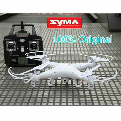 Drone Syma X5c Com Camera Hd, 6 Axis, 2,4ghz Pronta Entrega