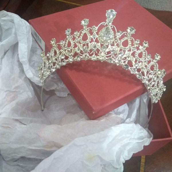 coroa princesa para noiva