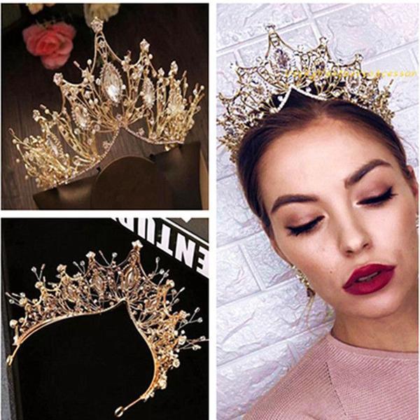 coroa tiara porta coque cristais noiva rainha festa de 15