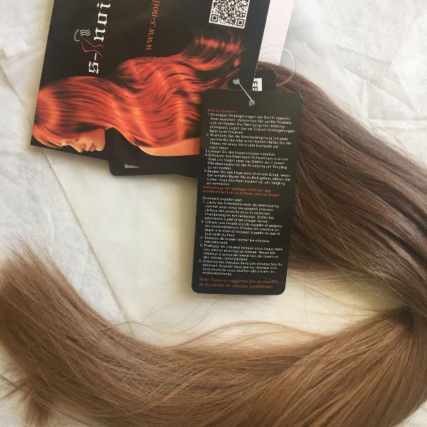 extensão de cabelo removível com arco de silicone comprado