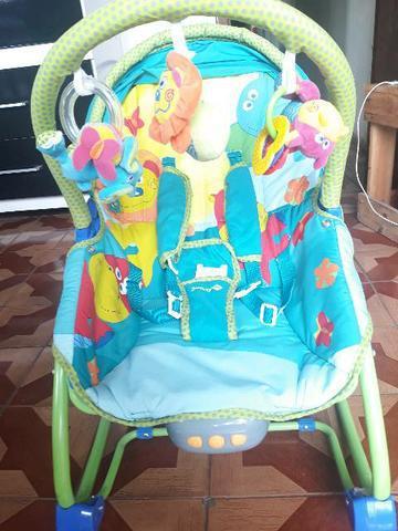 Cadeira de descanso Bouncer Sunshine Baby usada pouca vezes