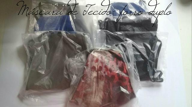 Máscara de Tecido: forro duplo/ 5,00$ cada