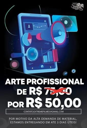 Criação De Artes Virtuais, Flyer, Banner, Gerenciamento,