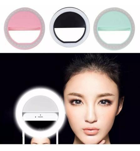 Iluminação Extra Flash Para Fotos Celular Smartphone Luz