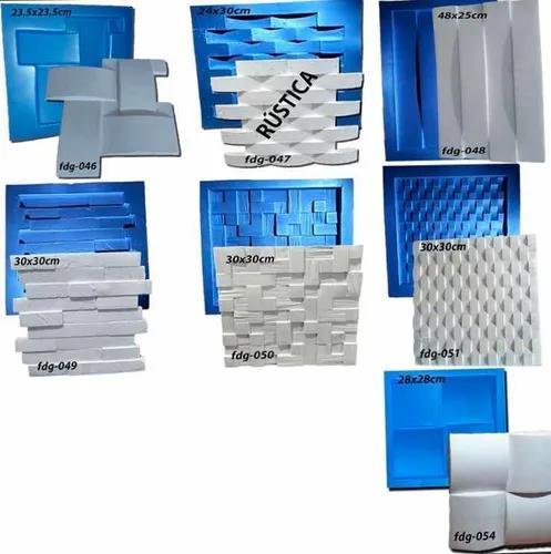 Kit 15 Formas De Gesso 3d