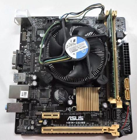 Kit Ddr3 lga 1150 | Placa mãe + Processador + Pente